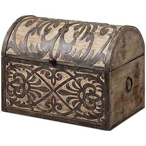 Uttermost 19709 Abelardo Rustic Wooden Box
