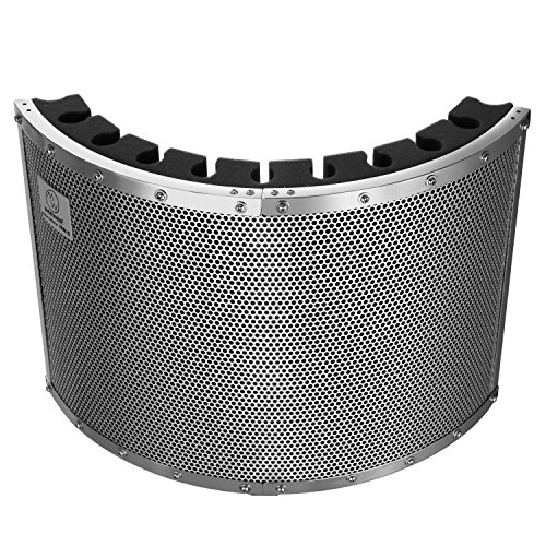 neewerr-portable-microphone-acoustic-isolation-shield-with-lightweight-metal-alloy-acoustic-foams-mo