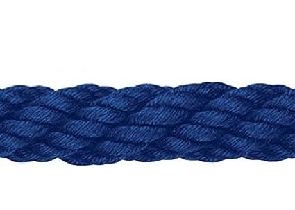 Pasamanos de cuerda de acr lico 30 mm azul marino - Pasamanos de cuerda ...