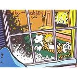 Calvin & Hobbes Hobbes Calvin ON FINE ART PAPER HD QUALITY WALLPAPER POSTER