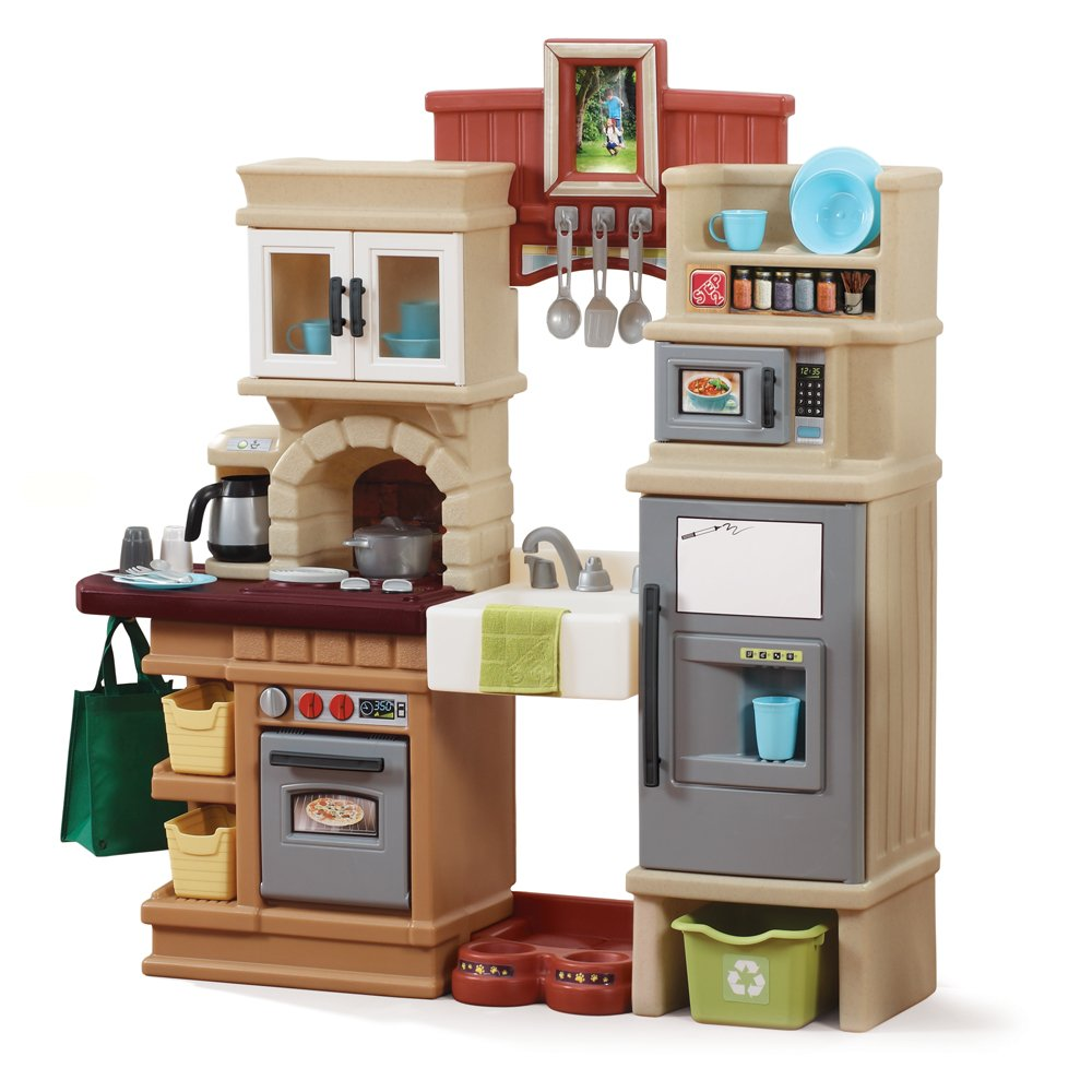 Heart Of The Home Kids Kitchen Play Set Realistic 41 Piece