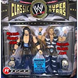 WWE Jakks Pacific Wrestling Classic Superstars Exclusive Action Figure 2-Pack Diesel Kevin Nash & HBK Shawn Michaels...