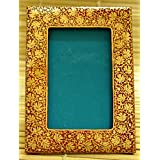 "The India Craft House Kashmiri Art - Papier Mache Photo Frame (8""*6"") KAWPHO8R"