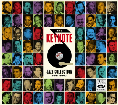 THE KEYNOTE JAZZ COOLECTION 1941-1947(11CD+124PAGE BOOKLET+POSTER)