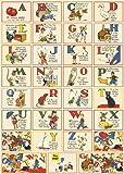 Cavallini Decorative Paper- Vintage Illustrated ABC