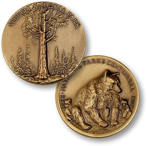 Sequoia National Park Coin - 1