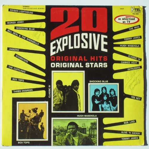 The Three Degrees - 20 Explosive Hits - Zortam Music