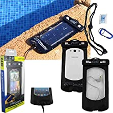 buy Waterproof Phone Case With Headphone Jack For Kyacking, Surfing, Boating, Swimming, Canoeing Fits Straight Talk Samsung Centura, Discover.