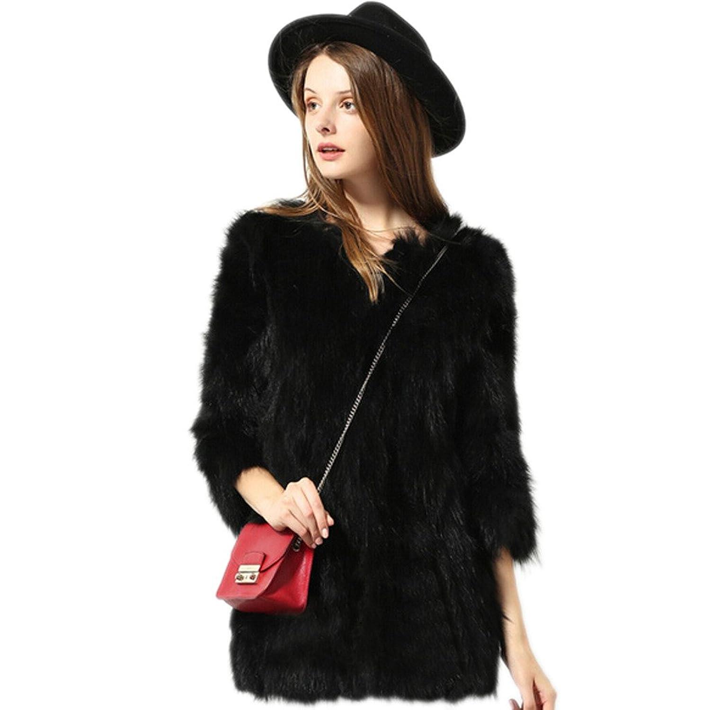 Tasso Damen Winterjacke Jacket Pelz Parka Kurzer Mantel Echtfell Oberteil Outfit Waistcoat günstig