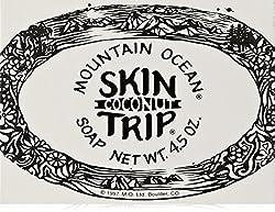 Mountain Ocean Soap Skin Trip Coconut 4.50 Ounces