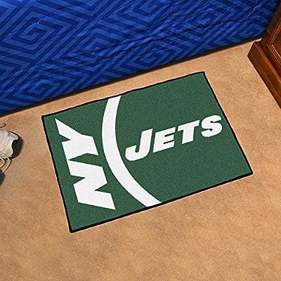 Fan Mats New York Jets NFL Starter Uniform Inspired Floor Mat - 20 x 30 Inch