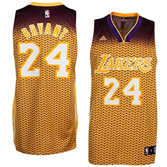 Los Angeles Lakers Kobe Bryant Adidas Resonate Swingman Revolution 30 Jersey by adidas