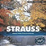 Strauss II, Johann  [vol. 1]: Waltzes, Polkas, Overture, & Marches