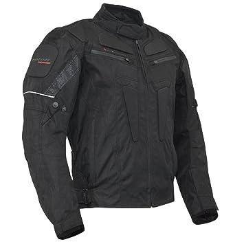 Roleff Racewear 3014 Blouson Moto Textile Riga, Noir, L
