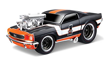 Maisto - 2043075 - Maquette De Voiture - Harley-davidson Ford Mustang '66 - Echelle 1/24