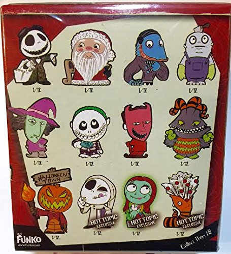 Toys From Hot Topic : Funko mystery minis nightmare before christmas hot topic