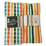 Good Quality 100% Cotton 2Pack Tea Towels Size 25