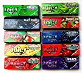 10 x Juicy Jays Mixed 1 1/4 Flavoured Cigarette papers
