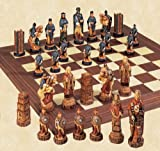 SAC Battle of Hastings Hand Decorated Chess Set A157S