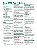 img - for Excel 2008 for Mac: Charts & Lists Quick Reference Guide (Cheat Sheet of Instructions, Tips & Shortcuts - Laminated Cards) book / textbook / text book