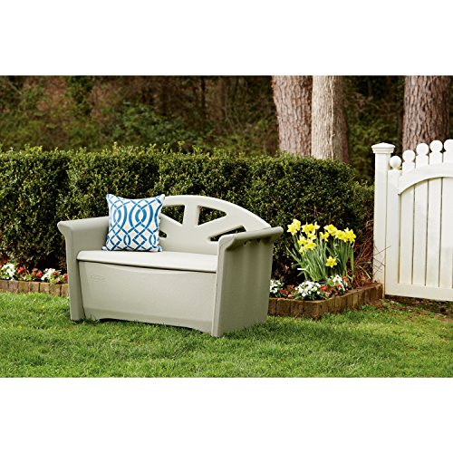 Patio Storage Box Bench Seat Outdoor Deck Garden Pool Porch Organizer Furnitu