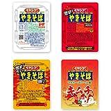 ペヤングやきそば ソース・激辛・激辛カレー・キムチ 4種類詰め合わせセット