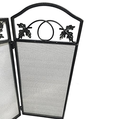 Amagabeli 3 Panel Large Fireplace Screen Doors And Screens Fire Place Cover Baby Proof Safety