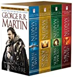 """A song of ice and fire 1-4"" av George R.R. Martin"