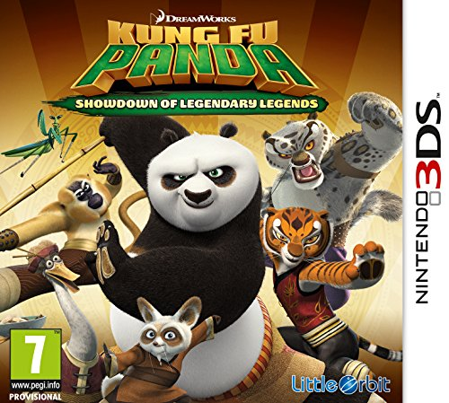 Kung Fu Panda 3: Showdown of Legendary Legends  (Nintendo 3DS)