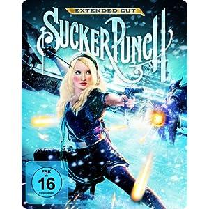 61jZdGxXhYL. SL500 AA300  [Amazon] Sucker Punch Extended Cut (2 Discs) Steelbook [Blu ray] für nur 11,97€ inkl. Versand