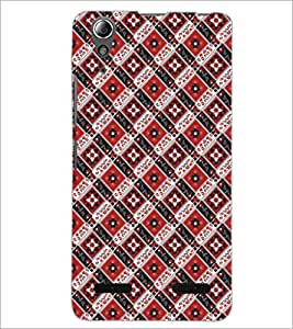 PrintDhaba Pattern D-5474 Back Case Cover for LENOVO A6000 (Multi-Coloured)