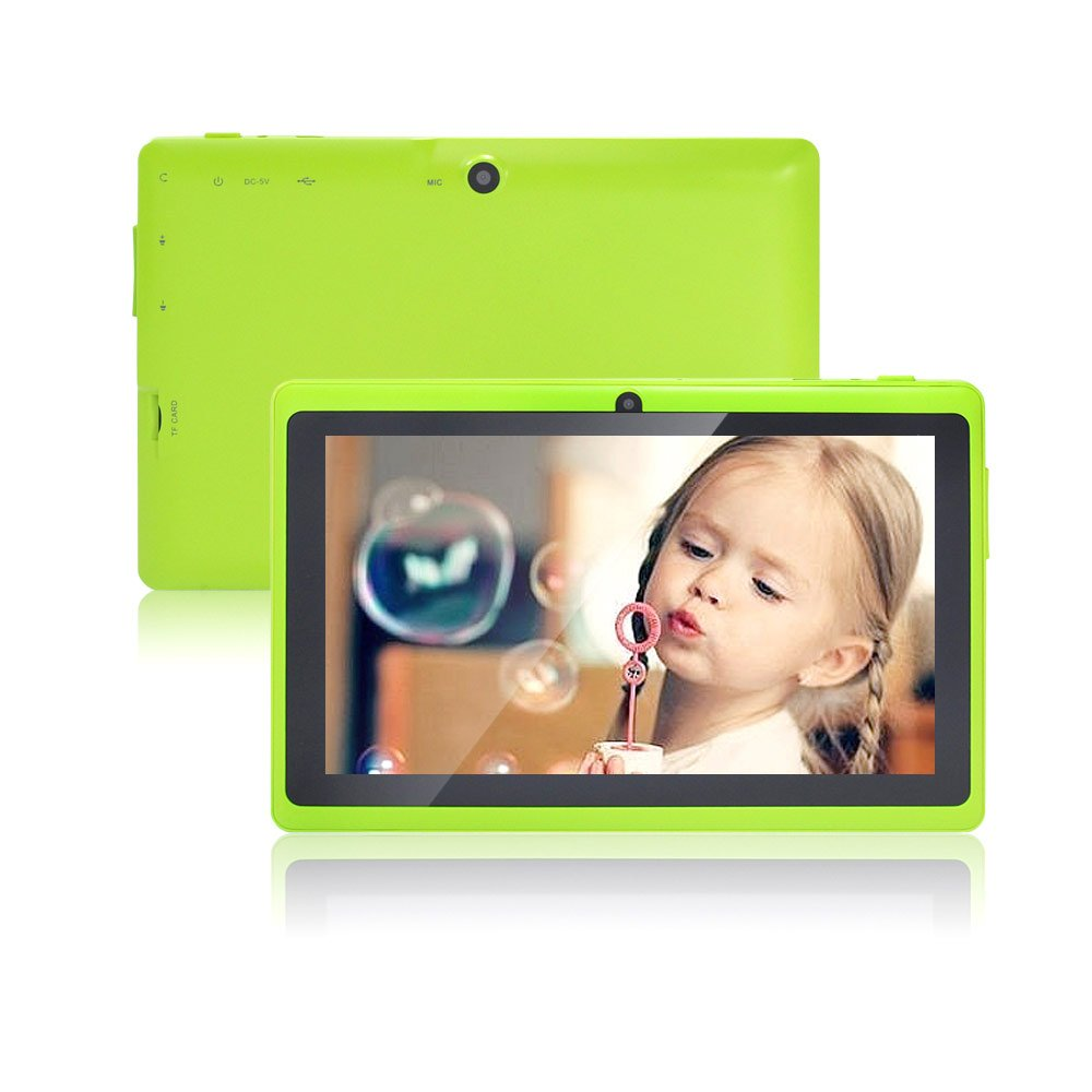 JYJ 7 Inch Android Google Tablet PC 4.2.2 8GB 512MB DDR3 A23 Dual Core Camera Capacitive Screen 1.5GHz WIFI Greenreviews and more information