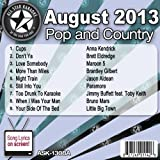All Star Karaoke August 2013 Pop and Country Hits A (ASK-1308A)