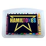 Hamiltones Crayon Set - 12 Hamilton Musical Parody Colors