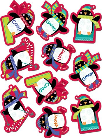 Penguins Stickers -- Case of 16