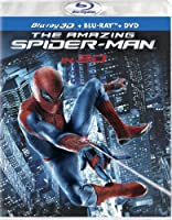 The Amazing Spider-man Four-disc Combo Blu-ray 3dblu-raydvd Ultraviolet Digital Copy by Sony