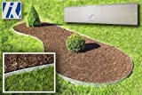 Lawn & Patio - Rasenkante Metall 120x13,5cm 26er Set