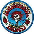 Application Skull and Roses Logo Patch by Application