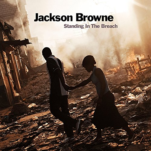 Original album cover of Standing In The Breach by Jackson Browne