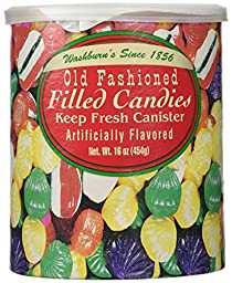 Washburn\'s Old Fashioned Hard Filled Candy, 16 oz