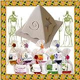 福袋!お香8種類&ピラミッド香炉セット