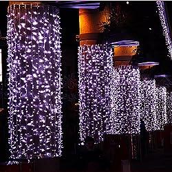 Funktionen - Material: Hartplastik und LED-Lampen. - Arbeitsspannung: 220V. - 100 % nagelneu und hohe Qualität LED Leuchten dekorative Leuchten String. - nimmt LEDs als Lichtquelle zu hell rosa Licht. - haben 8 Modi der Lichteffekte für Wahl in der f...