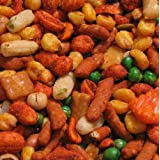 Hot 'n Spicy Trail Mix - 4 lb. Zip Lock Pouch Bag by Treasured Harvevst