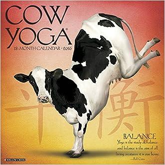 2016 Cow Yoga Wall Calendar