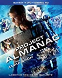 Project Almanac [Blu-ray + DVD + Digital HD] (Bilingual)