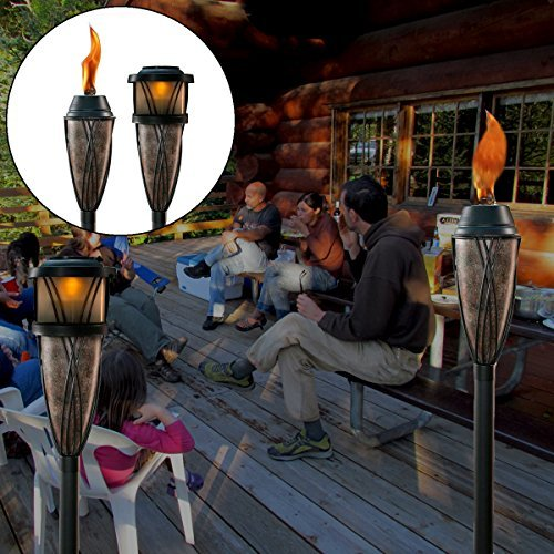 Top 5 Best Solar Tiki Torches For Sale 2016 Product
