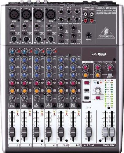 Behringer XENYX 1204USB 12-Input 2/2 Bus Mixer