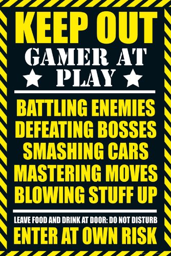 GB eye LTD, Gaming, Keep Out - Clean, Maxi Poster, 61 x 91,5 cm