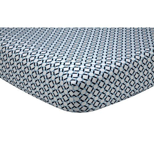 happy-chic-baby-by-jonathan-adler-charlie-chain-link-crib-sheet-by-crown-crafts-infant-products