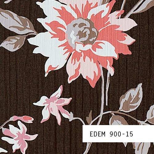 Tapeten MUSTER EDEM 900-Serie | Vliestapete Floral Designer Blumen Textiloptik, 900-XX:S-900-15